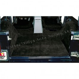 Replacement Carpet in Black  Fits  76-86 CJ