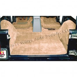 Replacement Carpet in Honey     Fits 76-86 CJ