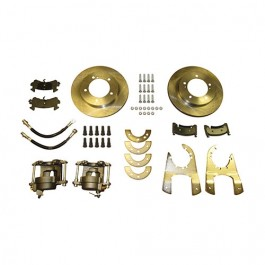 Complete Rear Disc Brake Conversion Kit  Fits  46-71 Jeep & Willys