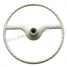 Ivory Steering Wheel  Fits  46-49 Truck, Station Wagon, Jeepster