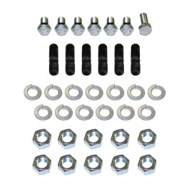 Timing Cover & Front Plate Stud & Bolt Hardware Kit  Fits  41-53 MB, GPW, CJ-2A, 3A, M38 with 4-134 L engine