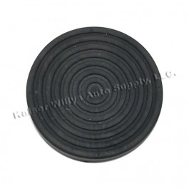 Clutch & Brake Pedal Rubber Pad  Fits  46-64 Truck, Station Wagon, Jeepster
