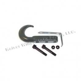 Front Tow Hook in Black  Fits  76-86 CJ