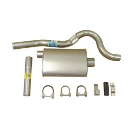 Cat Back Exhaust Kit  Fits  81-85 CJ-8 with 6 Cylinder