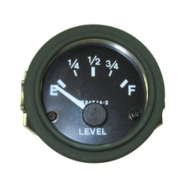 New Instrument Panel Fuel Gauge (24 volt) Fits 50-66 M38, M38A1 (packard, rubber connections
