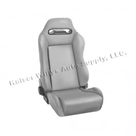 Sport Front Reclinable Seat in Gray  Fits  76-86 CJ
