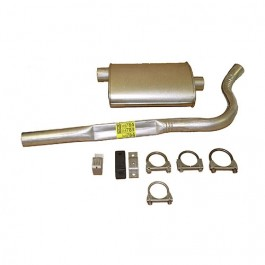Cat Back Exhaust Kit  Fits  83-86 CJ-7 with 6 Cylinder