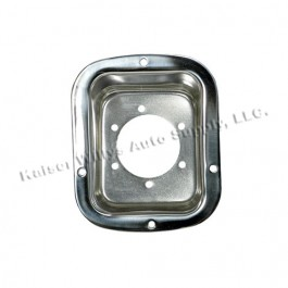 Gas Filler Housing in Stainless  Fits  78-86 CJ
