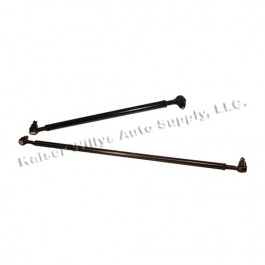 Wide Track Heavy Duty Tie Rod and Drag Link Kit  Fits  82-86 CJ