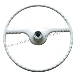 Ivory Steering Wheel  Fits  50-64 Truck, Station Wagon, Jeepster