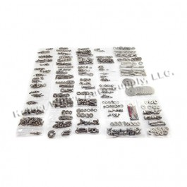 Body Fastener Kit, Soft Top  Fits  81-86 CJ-8