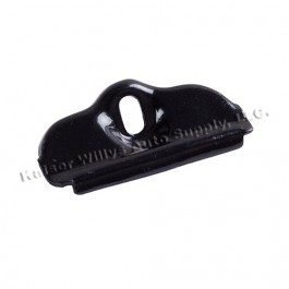 Stainless Steel Battery Tray Clamp Only in Black  Fits  76-86 CJ