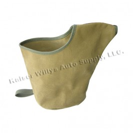 Collapsible Canvas Water Pitcher Fits : 41-71 Jeep & Willys