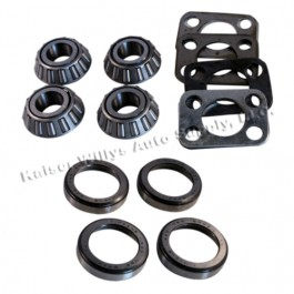 King Pin Bearing Kit for Both Sides  Fits  41-71 Jeep & Willys with Dana 25/27