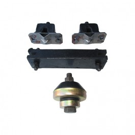 Engine, Transmission & Transfer Case Mount Kit (insulators) Fits  52-66 M38A1 with 4-134 engine & Dana 18 transfer case