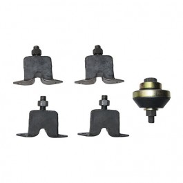 Engine, Transmission & Transfer Case Mount Kit (insulators) Fits 46-58 Truck, Station Wagon with 4-134 & 6-226 engines