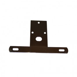 License Plate Bracket in Stainless  Fits  76-86 CJ