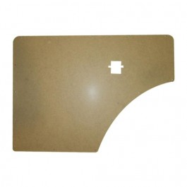 Interior Front Quarter Kick Panel (2 required) Fits 46-64 Station Wagon