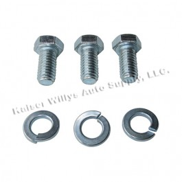Thermostat Housing to Cylinder Head Hardware Kit Fits  41-53 Jeep & Willys with 4-134 L engine