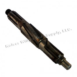 Transmission Rear Main Shaft (without overdrive)  Fits  46-55 Jeepster, Station Wagon with T-96 Transmission