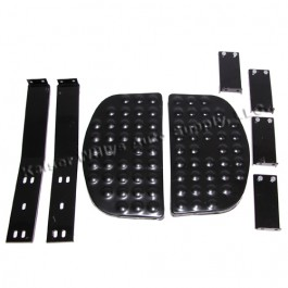 Side Step Kit with Bracket for Both Sides  Fits  46-71 CJ-2A, 3A, 3B, 5, M38, M38A1