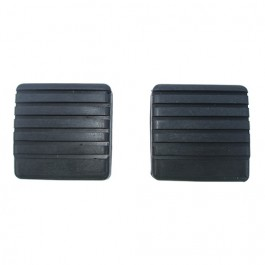 Clutch & Brake Pedal Rubber Pad (sold as pair) Fits 67-73 CJ-5, Jeepster Commando