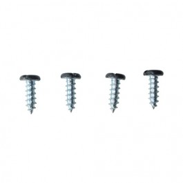 Steering Column to Floor Plate Screws (Set of 4) Fits  46-56 CJ-2A, 3A, 3B