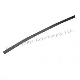 Rear of Wind Wing Vertical Division Bar Door Rubber Weatherseal  Fits  46-64 Truck, Station Wagon