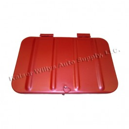 Replacement Tool Compartment Lid  Fits  46-69 CJ-2A, 3A, 3B, 5, M38