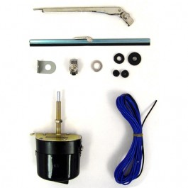 Windshield Wiper Motor Conversion Kit in 6 volt  Fits  41-59 MB, GPW, CJ-2A, 3A, 3B, 5