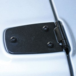 Hood Hinges in Black  Fits  76-86 CJ