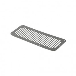 Cowl Vent Cover in Stainless  Fits  76-86 CJ