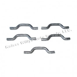 End Panel Spot On Weld Footman Loops (Set of 5)  Fits 52-66 M38A1