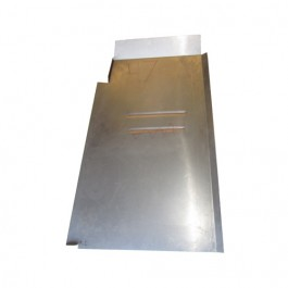 Floor Pan Repair Panel for Drivers Side Fits 46-55 Station Wagon, Sedan Delivery (2 wheel drive)