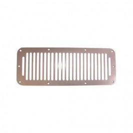 Cowl Vent Cover in Satin Stainless Steel  Fits  78-86 CJ