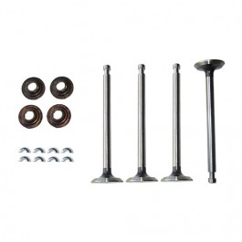 Exhaust Valve Rotator to Retainer Conversion Kit Fits 50-71 Jeep & Willys with 4-134 Engine