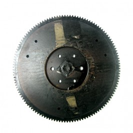 NOS Flywheel with 129 Tooth Ring Gear Assembly  Fits  50-71 CJ-3B, 5, M38A1, Truck, Station Wagon, Jeepster