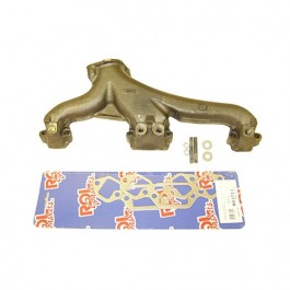 LH Exhaust Manifold Kit with Gasket  Fits  76-86 CJ with V8 AMC