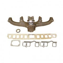 Exhaust Manifold Kit with Gasket  Fits  76-80 CJ with 6 Cylinder 199 232 258