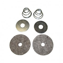Clutch & Brake Pedal Felt Draft Seal Kit Fits  41-66 MB, GPW, CJ-2A, 3A, 3B, 5, M38, M38A1
