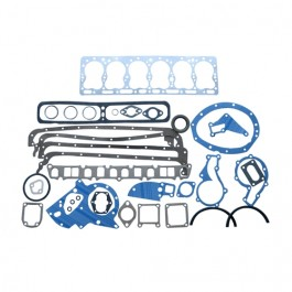 Complete Engine Overhaul Gasket Set (neoprene rear main)  Fits  54-64 Truck, Station Wagon with 6-226 engine