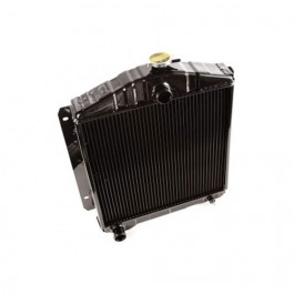 Radiator Assembly (Import) Fits 55-71 CJ-5 with 4-134 engine