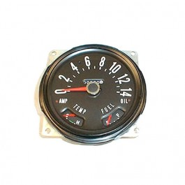 Speedometer Assembly, Kilometer Dial  Fits  76-79 CJ-5