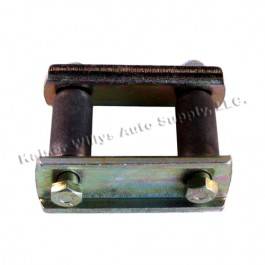 Leaf Spring Shackle Kit Fits: 52-71 CJ-3B, 5, M38A1 (non greasable)