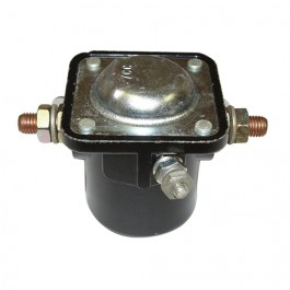 Starter Solenoid 12 volt  Fits  50-71 Jeep & Willys with starter mounted solenoid