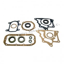 Transfer Case Overhaul Gasket Set with Oil Seals  Fits  41-71 Jeep & Willys with Dana 18 transfer case