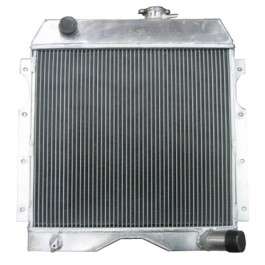 All Aluminum Radiator Assembly - USA Made Fits  54-64 Truck, Station Wagon with 6-226 engine