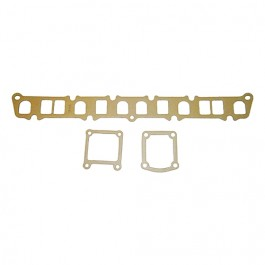 New Manifold Gasket Set (3 piece kit)  Fits  54-64 Truck, Station Wagon with 6-226 engine