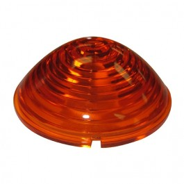 Replacement Park & Turn Signal Lamp Lens (Amber) Fits  53-71 CJ-3B, 5