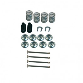 Brake Shoe Hold Down Spring Kit  Fits 67-75 CJ-5, Jeepster Commando with 11
